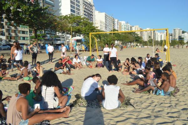 Ação na Praia 10